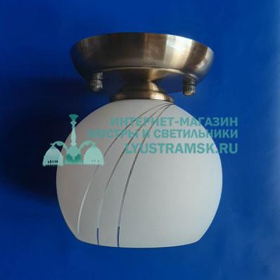 Люстра плафон ЛС 831 бронза